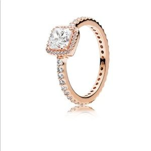 Pandora rose gold ring 4.5